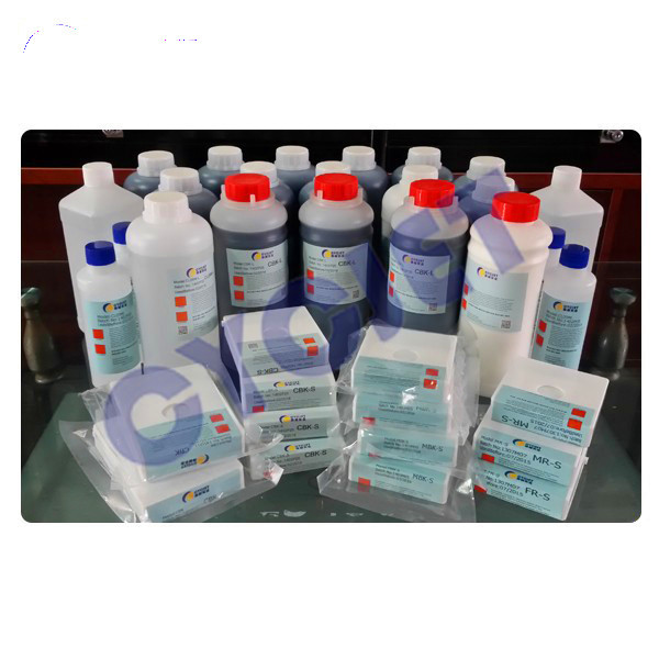 Pigment Ink for CYCJET Inkjet Printer/CBK; MR; PW;MBL Different Color for Inkjet Printer