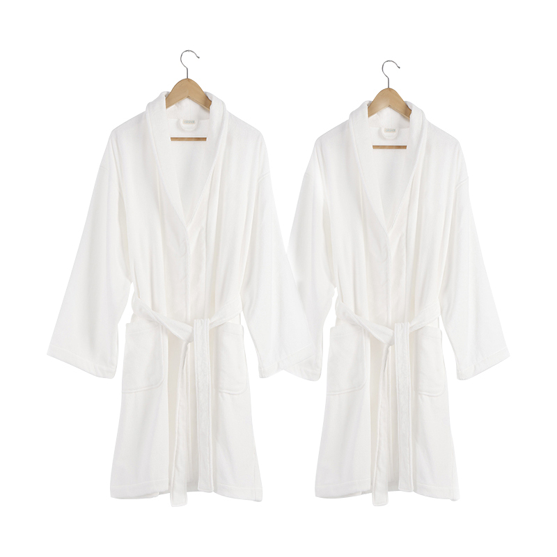 Hot wholesale 100% bamboo fiber men's and women's pajamas bath robe