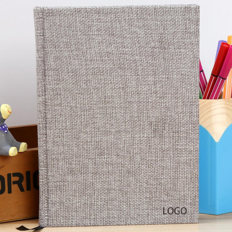 product-Dezheng-A5 Thick Diary Hardcover Linen Notebooks With Custom Logo Printing-img-1