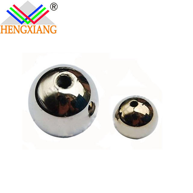 ball shape 99.999% Germanium Spherical germanium beads with aperture germanium metal price with certification