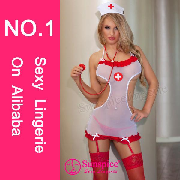 Sunspice sexy nurse photos costume