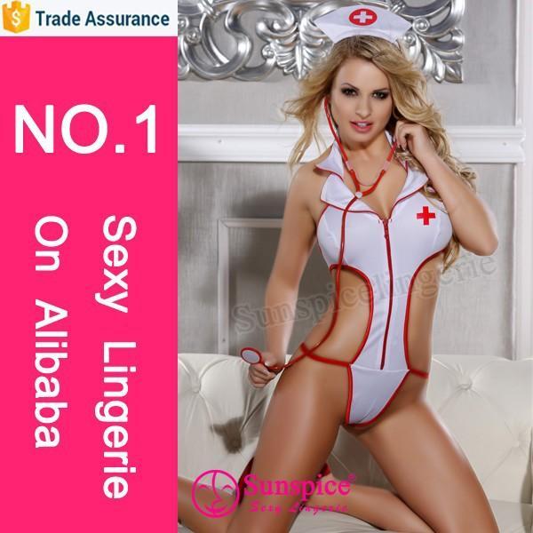 Sunspice hot sales lingerie manufacturer sexy army nurse costume