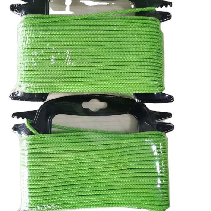 16 strand braided utility pp rope diamond braided rope