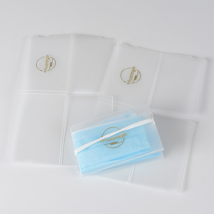 Portable Pocket Storage Mascara Folder Face Cover Keeper with Logo