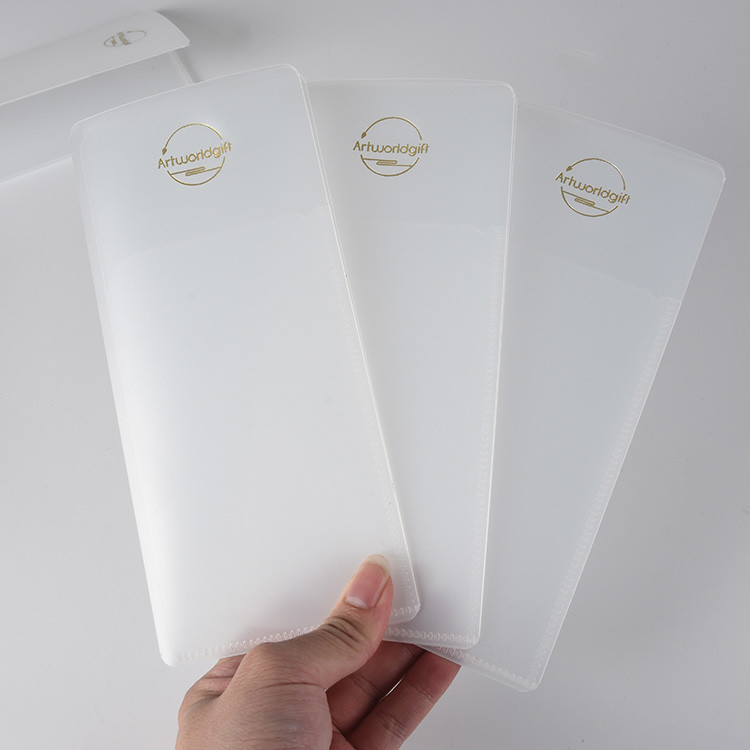 Eco-friendly Portable Durable Medical Face Muffle Folder with 2 or 3 Pockets