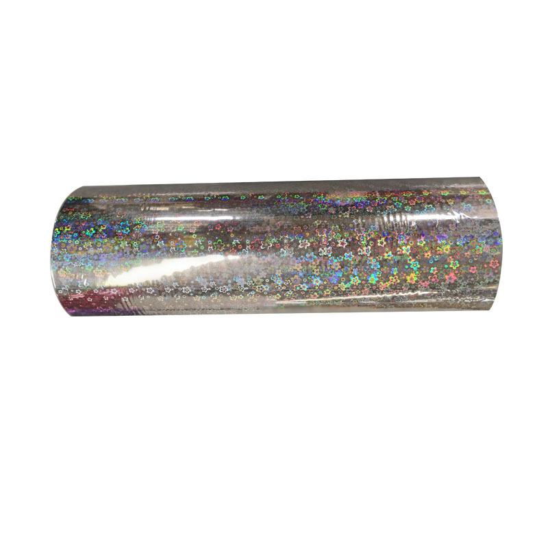 Good qualityTransparent adhesiveBOPP holographic lamination film/hot sell thermal lamination filmholographic