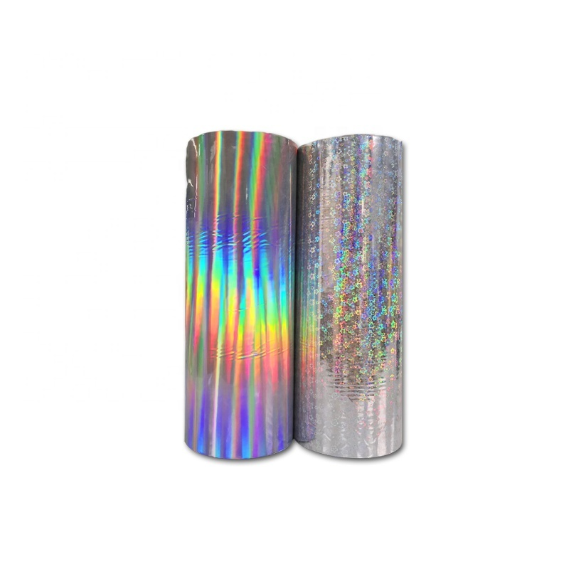 Hot seamless film metalized hologram lamination film for printing packaging