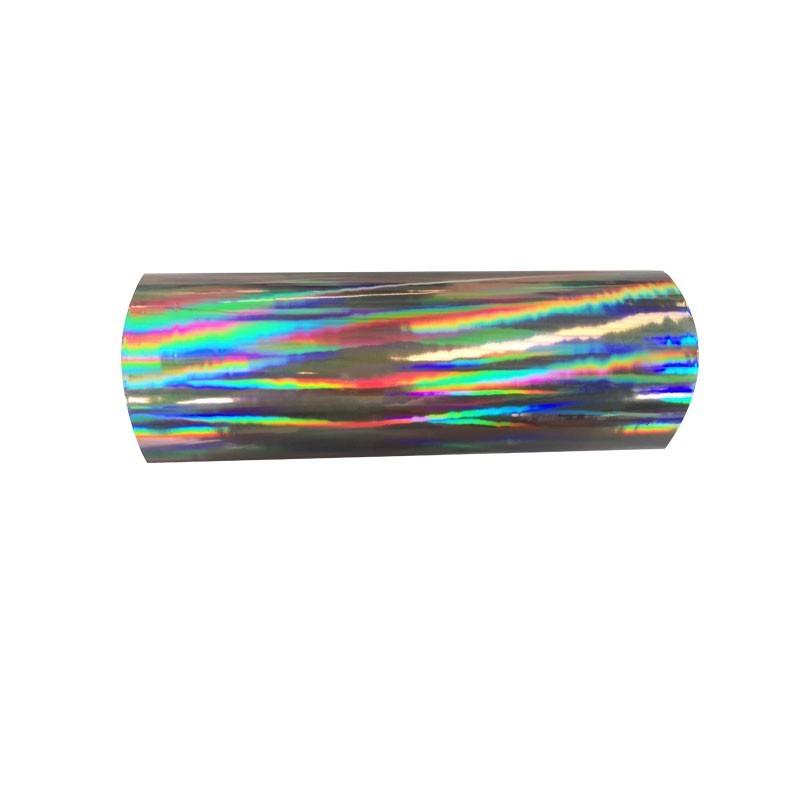 BOPP Hologram Rainbow Film Iridescent Hologram Plastic lamination Film for tobacco