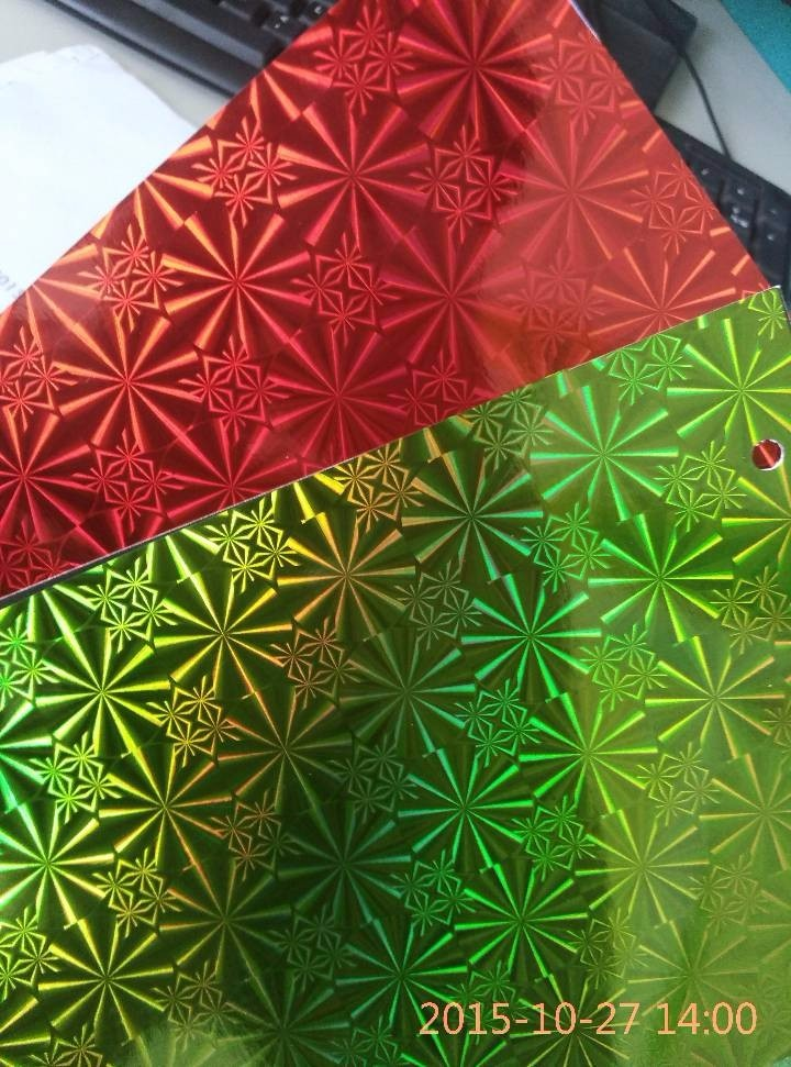 BOPP Hologram Film Laser Thermal Lamination Film With High Quality