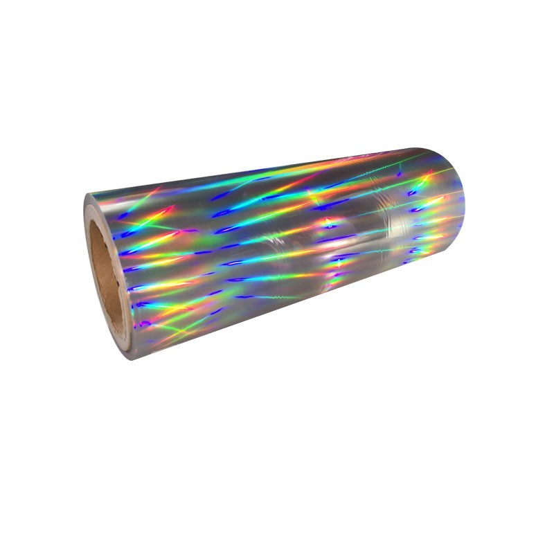 Hot Seamless Type eva holographic iridescent Hologram lamination film Bopp Glossy Holographic Film Pet Laminated Film