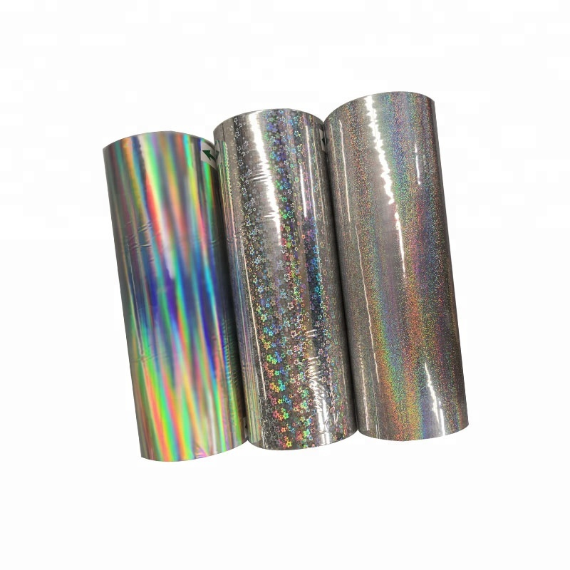 EVA Coating Holographic thermal lamination film/Rainbow looking