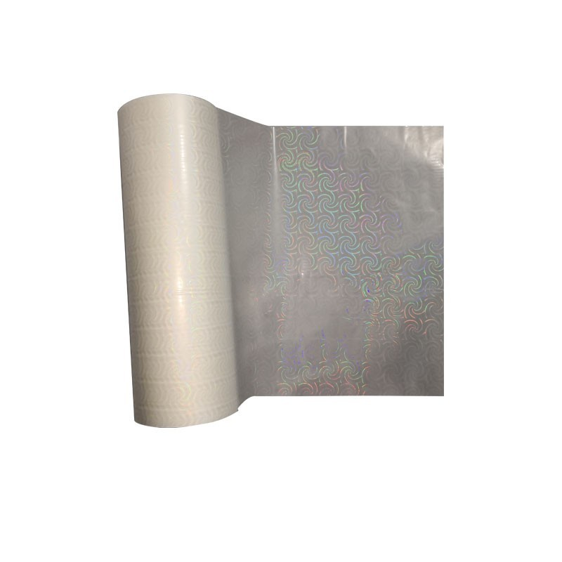 Seamless Rainbow Transparent OPP Holographic Film Manufacturer For Packaging Decoration