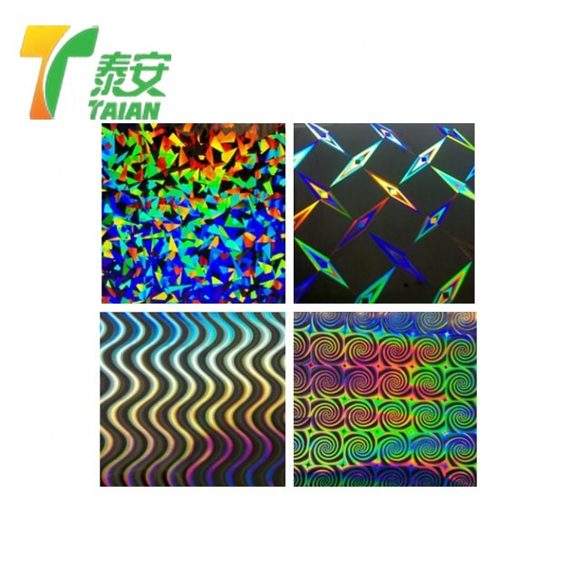 Bopp Transparent Holographic thermal lamination film roll