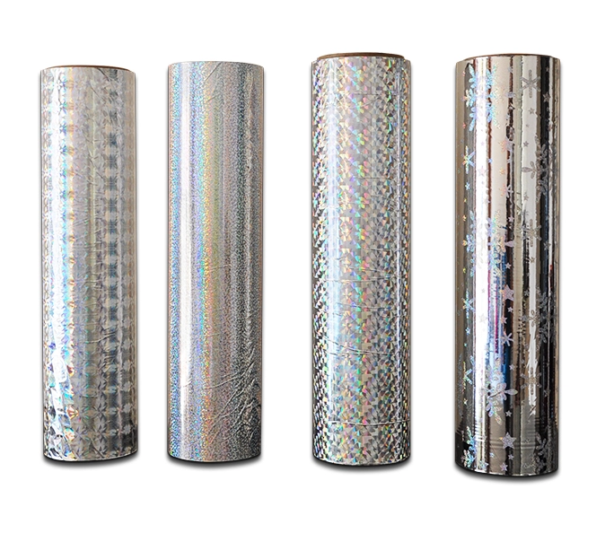 Chinese laser filmBOPP metallized holographic thermal laminating film