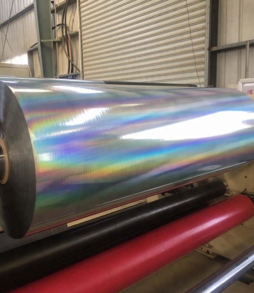 New Type Rainbow Holographic Bopp Thermal Lamination Film
