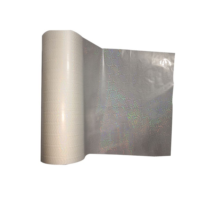 Transparent holographic lamination film heat holographic film for printing