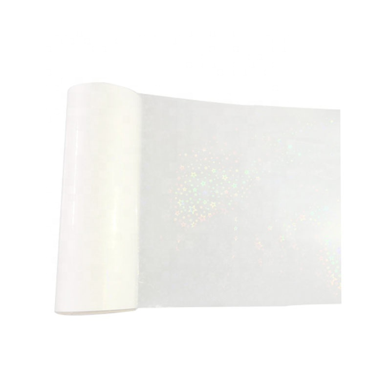 Different Pattern TransparentBOPP Holographic MetalizedLamination Film for Paper Board
