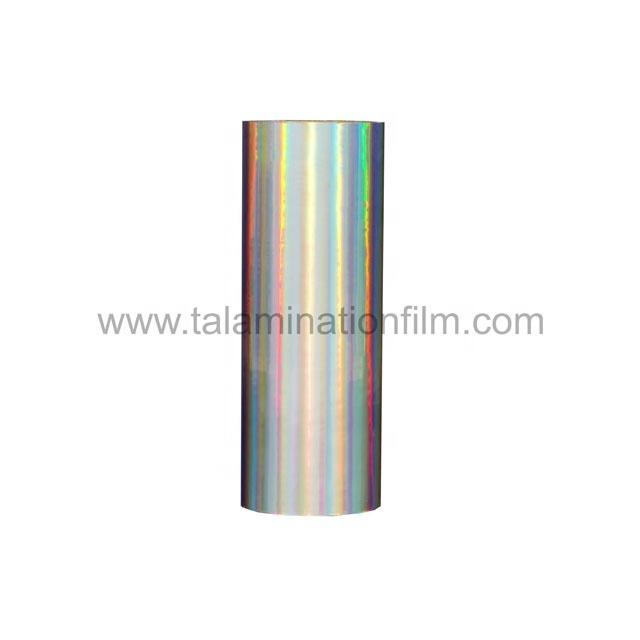 chinese superior quality hologram rainbow thermal lamination film
