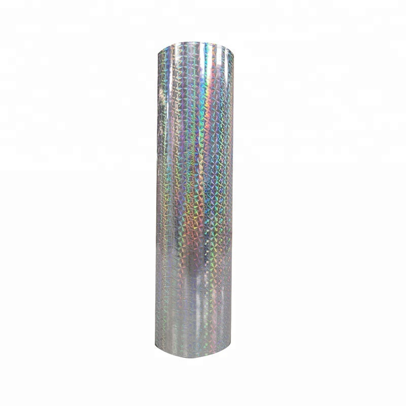 OPP Hologram thermal lamination Film for Pants decoration Film