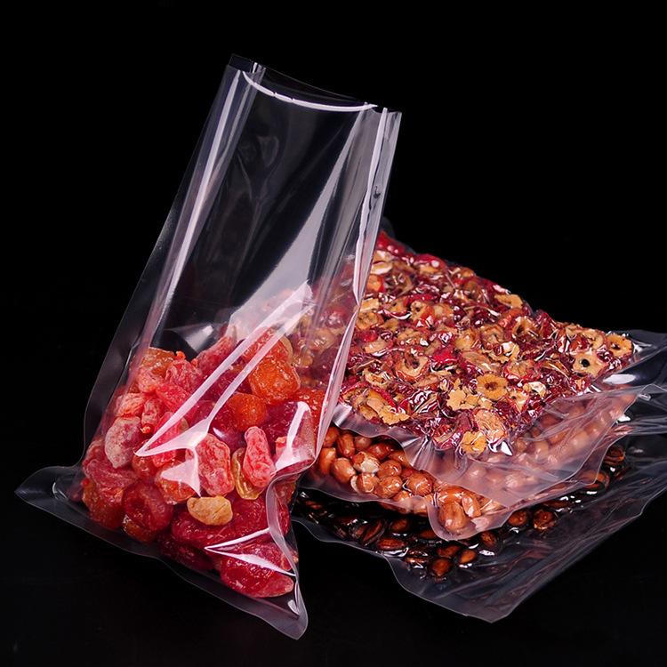 3 Side Seal Transparent Vacuum Bag For Food Packaging