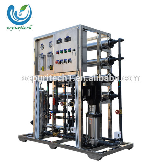Compact reverse osmosis system ro plant for water purification