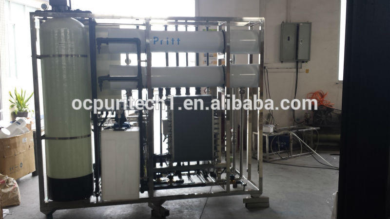 2000LPH ro water filter Reverse Osmosis water treatment plant price