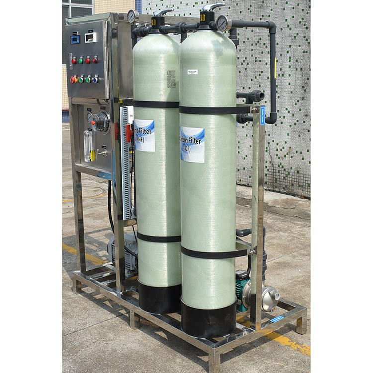 Salt Water Treatment Machine Reverse Osmosis Industrial Water Purification