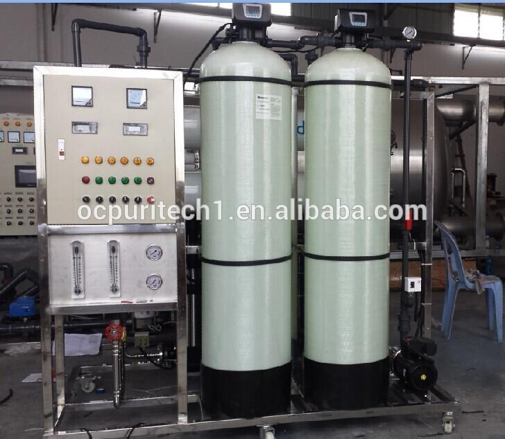2T/H RO mineral water purification plant cost
