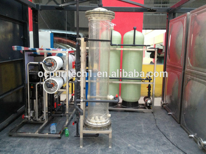 2000LPH Reverse Osmosis system water treatment plant
