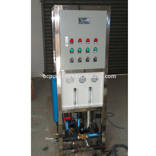 500LPH Reverse Osmosis water treatment chemical ro water purification