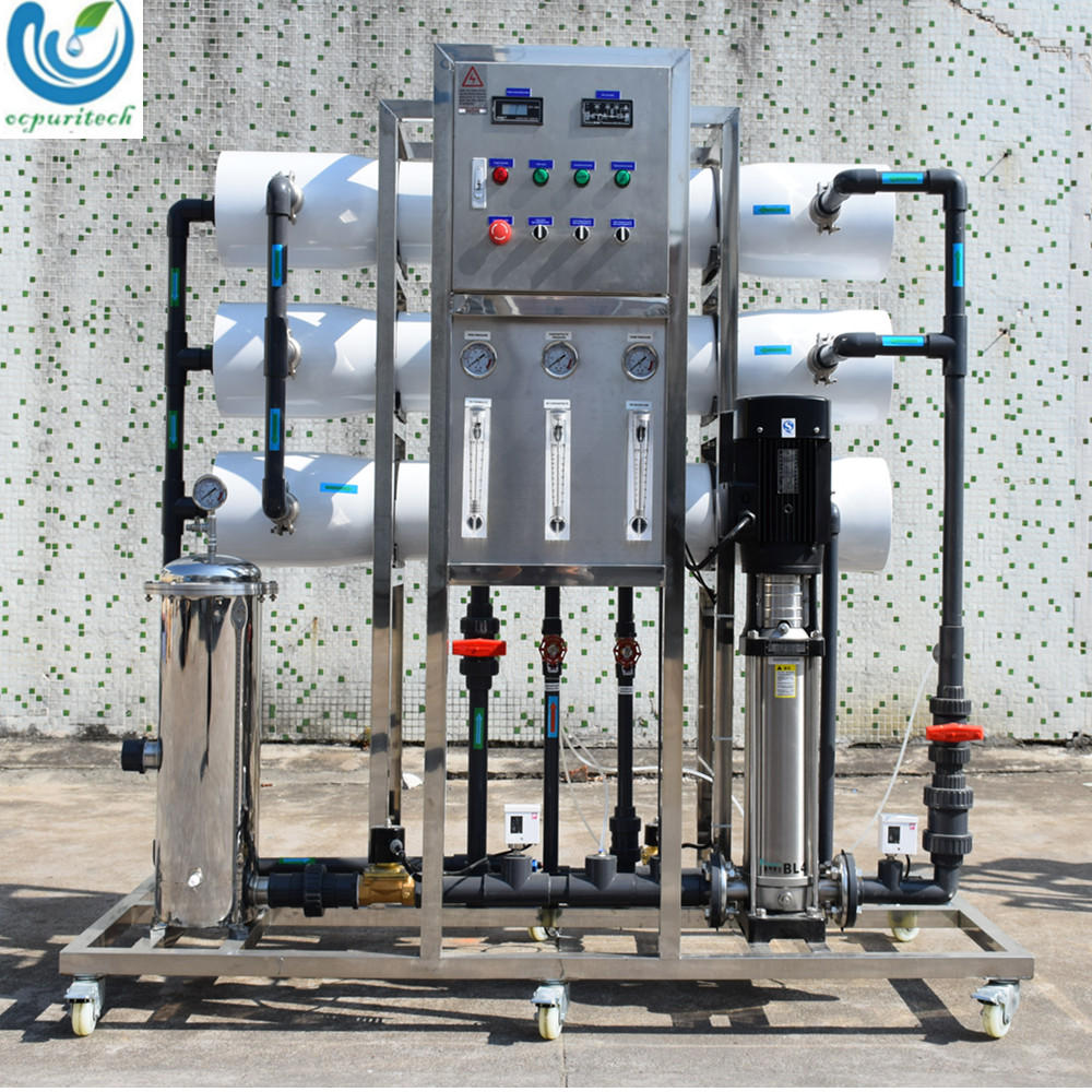3T/H Reverse Osmosis systems water treatment Plant