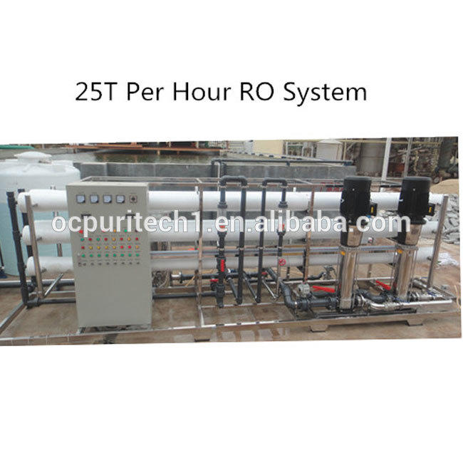 25T/H Reverse Osmosis lowes water filter systems RO water treatment systems