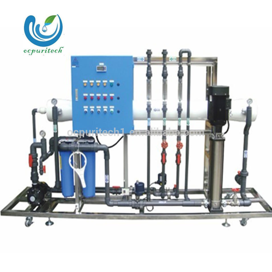 2.5T/H Reverse Osmosisbrackish water treatment plant ro water purifier
