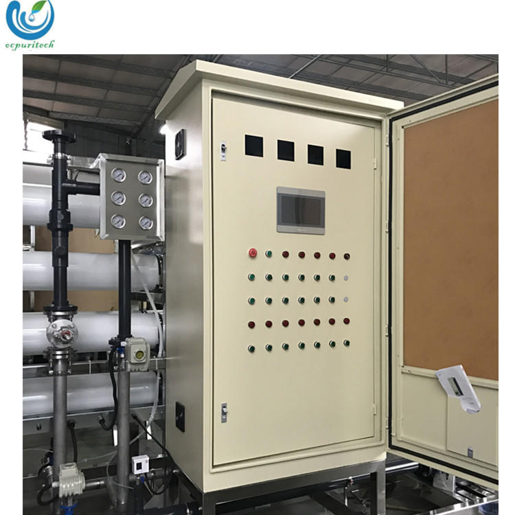 30TPH Advanced technology portable water treatment plant with water treatment hs code unit in containers