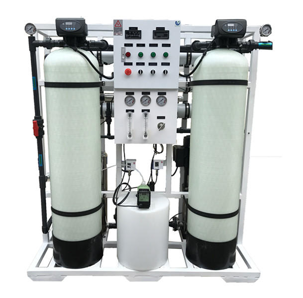 750LPH Reverse Osmosis System Brackish Water RO Plant