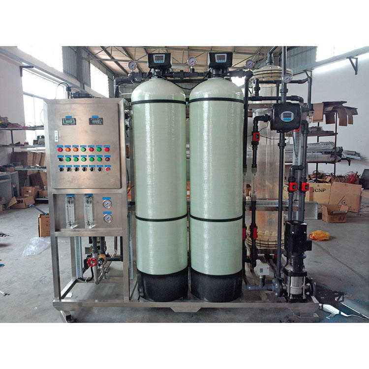 Salty water treatment plant borehole water filtration