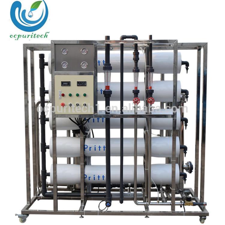 5TPH reverse osmosis water distillation plant