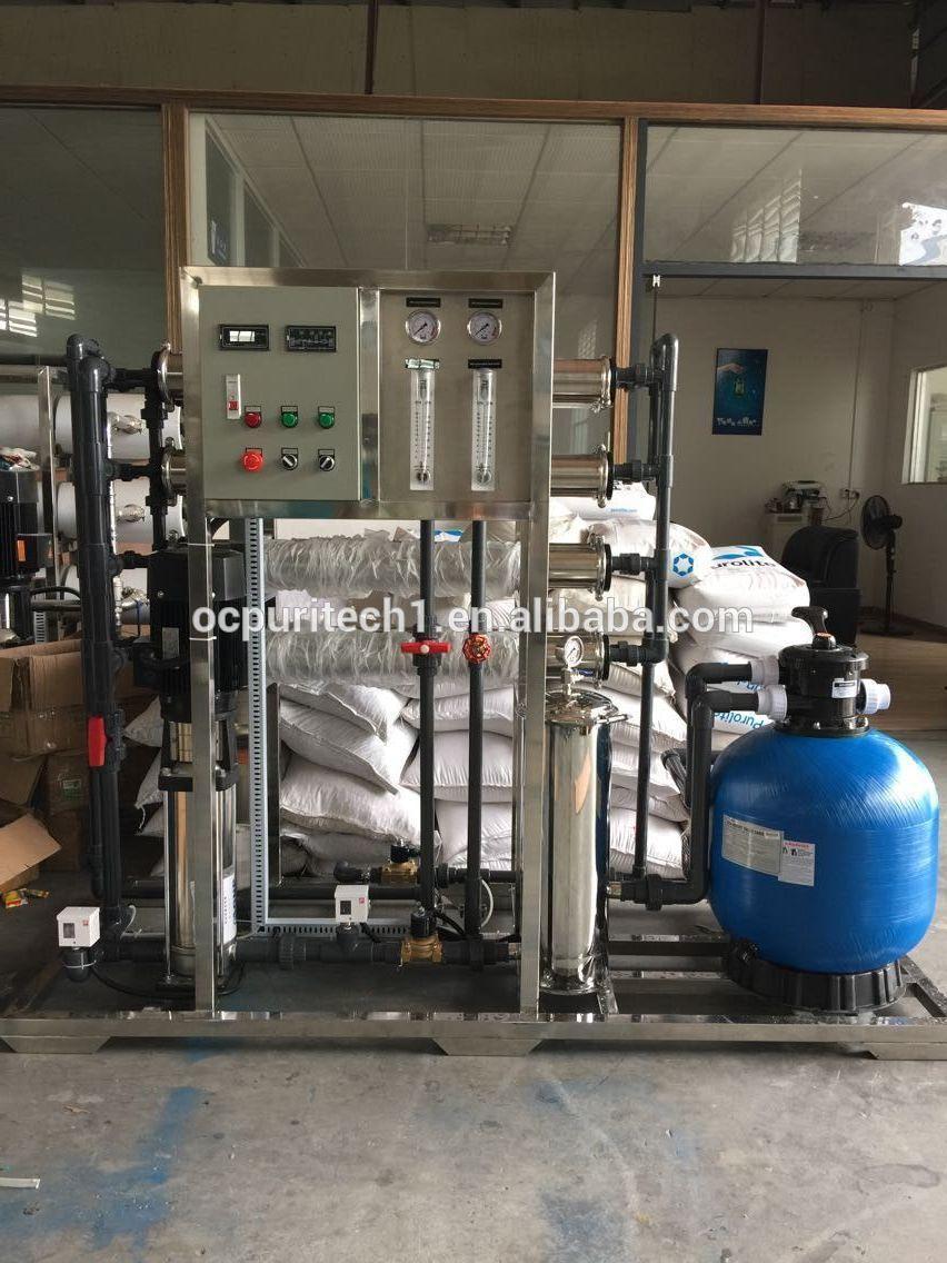 Sand filter reverse osmosis salty water desalination equipment