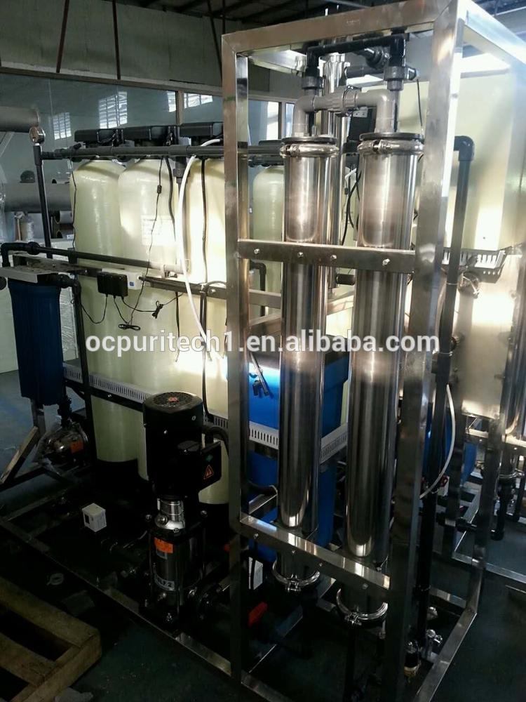 3000GPD underground water treatment desalination reverse osmosis plant