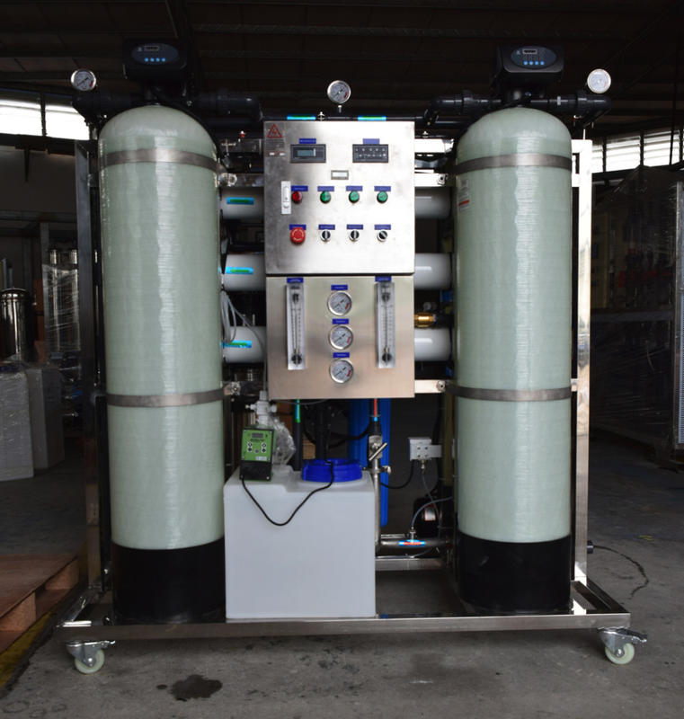 500L/hr(3000GPD) Guangzhou Aomi Well / Brackish Salty Water Treatment System