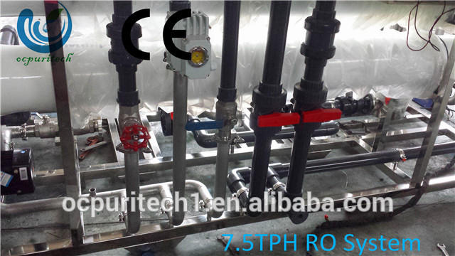 7.5TPH reverse osmosis water treatment plant water purification system