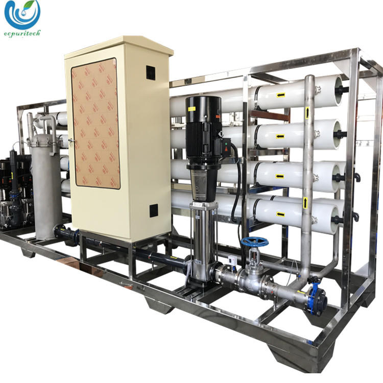 30TPH Reverse osmosis pure water treatment equipment / water treatment station