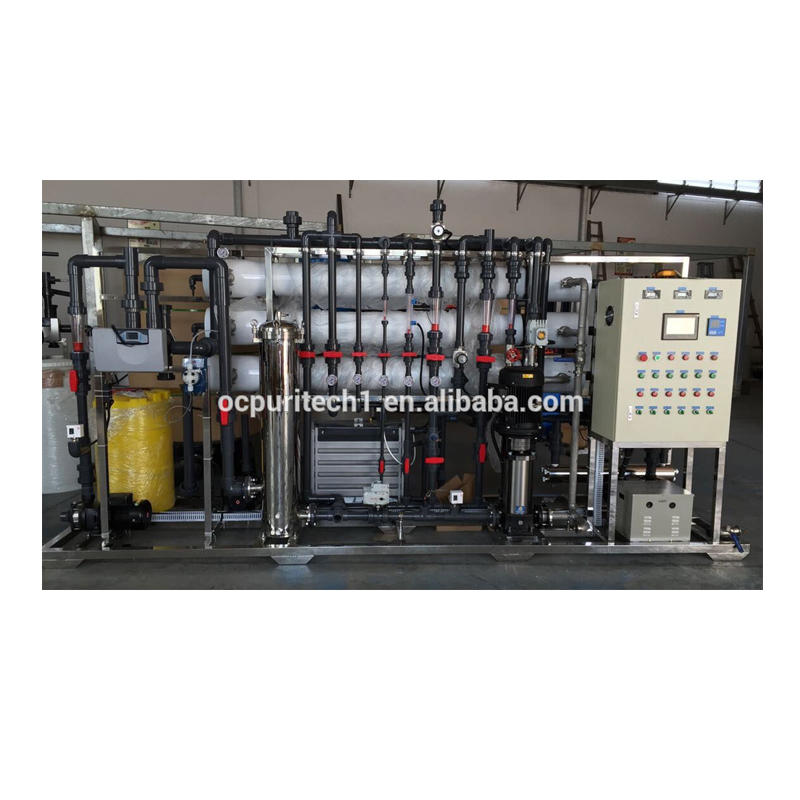 Reverse Osmosis sewage water treatment plant mineral water machine