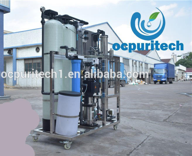Automatic sand filter osmosis reverse water purification machine