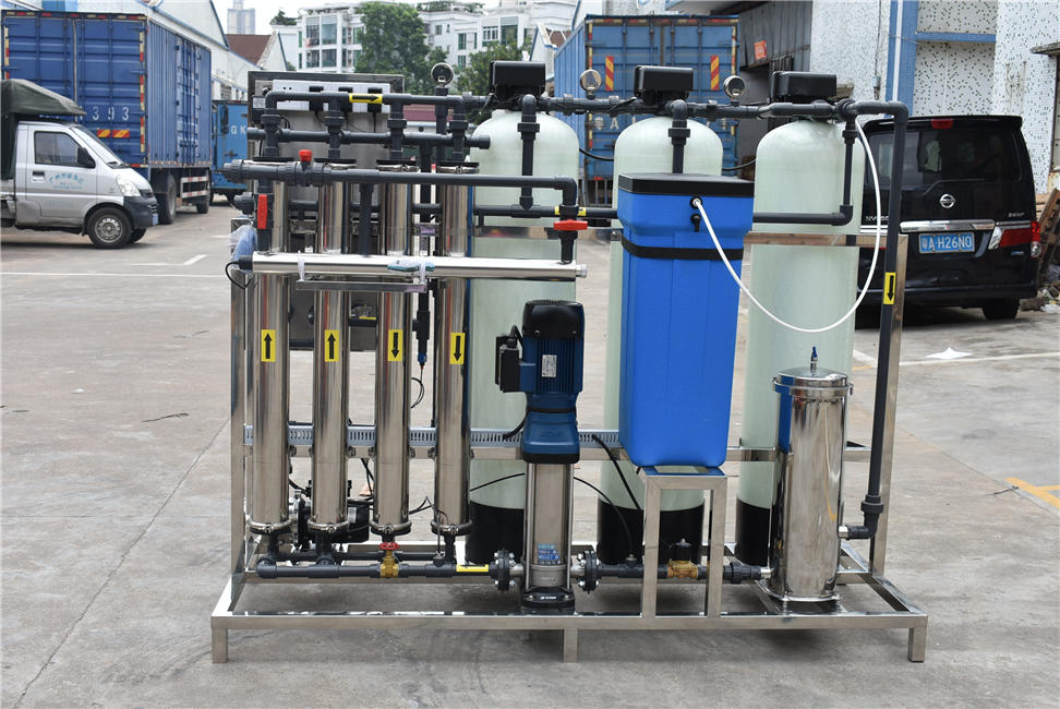 Reverse Osmosis multi-media filter type big ro plant industrial filtering equipment