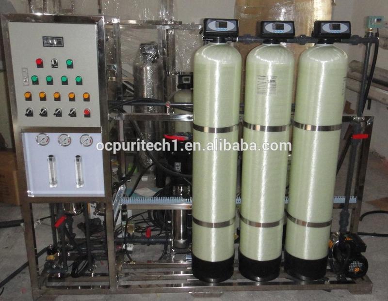 500LPH reverse osmosis system brackish water desalination
