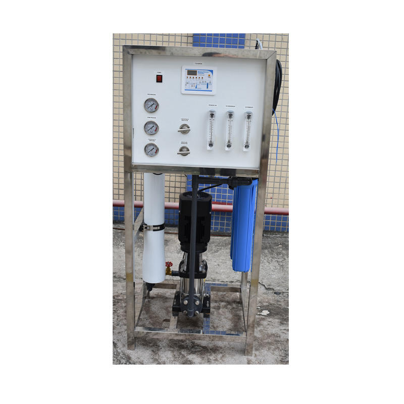 250LpH Industry pure water filtration compact ro system