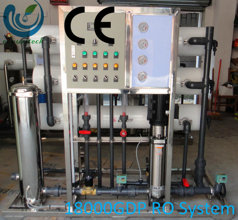 18000GPD RO drinking water treatment machine with price