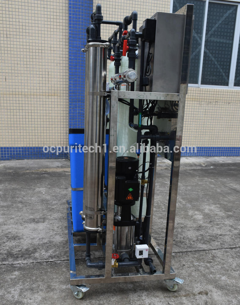 500Lph water filter ro treatment plant