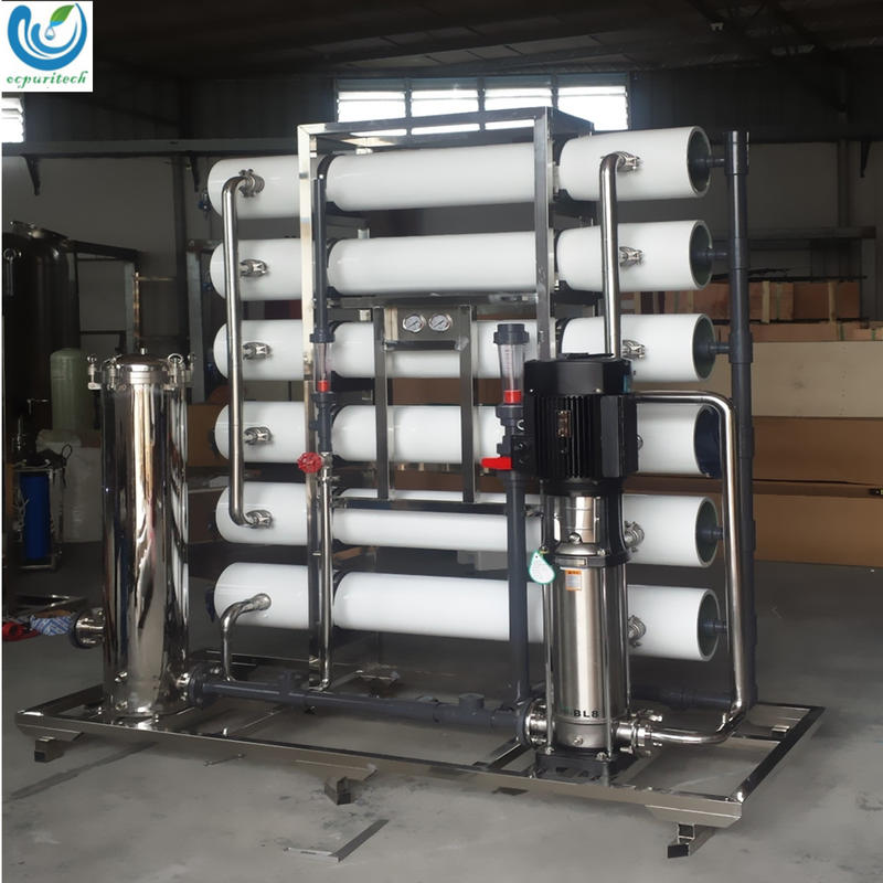 6000L/hr Industry Reverse Osmosis Hotel Drinking water purification